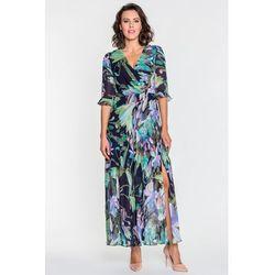 6bceb74a4c Zwiewna sukienka w kwieciste wzory - marki Gapa fashion