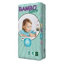 Bambo Nature Junior 12-22kg, 54szt.