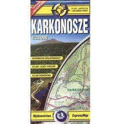 Karkonosze - mapa turystyczna w skali 1: 30 000