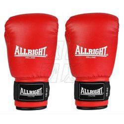 Rękawice bokserskie Allright 10oz czerwone