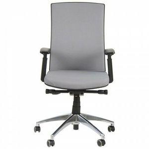 Fotel biurowy gabinetowy z wysuwem siedziska HN 5038SZARY