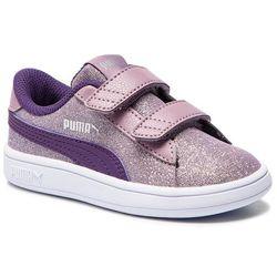 72890dd20f10f Sneakersy PUMA - Smash V2 Glitz Glam V Inf 367380 06  Elderberry Indigo Silver Wht