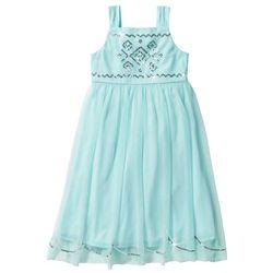 98d2d19b0e Sukienka tiulowa z cekinami pastelowy miętowy marki Bonprix