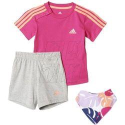 Komplet dziecięcy adidas Dres I Summer Gift Pack Kids AJ7358