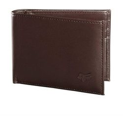 portfel FOX - Bifold Leather Wallet Brn (081)