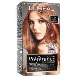 Loreal farba recital preference 7.23 blond opalizująco złocisty 1op.
