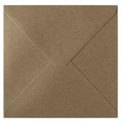 Koperty ozdobne 160x160mm op.10 120g. kraft - c.beżowy marki Galeria papieru