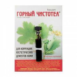 Doktor vedov Glistnik górski jaskółcze ziele ekstrakt na kurzajki, brodawki 1,2ml