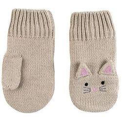 rękawiczki dziecięce kotek 6-12m marki Zoocchini