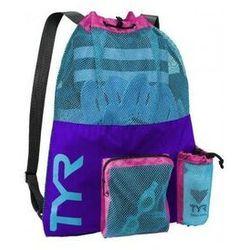 Tyr worek na sprzęt alliance big mesh mummy bag backpack purple-pink