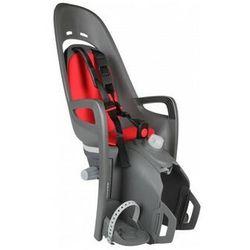 Fotelik rowerowy HAMAX Zenith Relax Adapter szary czerwona wyściółka 2017, kolor szary