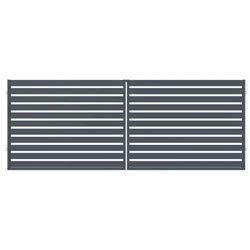 Brama dwuskrzydłowa szafir 400 x 150 cm marki Polargos