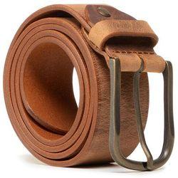 Pasek Męski WRANGLER - Authentic Belt W0G6U1H16 Camel Brown