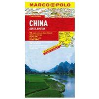 Mapy i atlasy turystyczne, Chiny mapa 1:4 000 000 Marco Polo (opr. broszurowa)