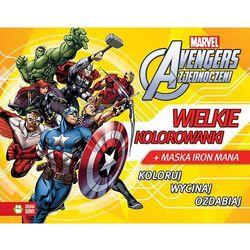 Avengers. Wielkie kolorowanki + zakładka do książki GRATIS