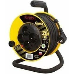 Przedłużacz bębnowy 4GN 10m 3x1,5mm w GUMIE (PZB1-40-10G) - Sprawdź kupon rabatowy w koszyku