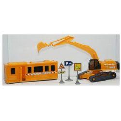 Zestaw konstrukcyjny koparka + kontener 1;48
