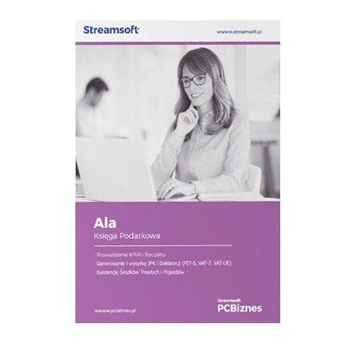 Programy kadrowe i finansowe, Streamsoft PCBiznes ALA Księga podatkowa