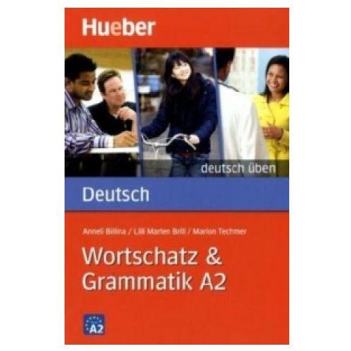Książki do nauki języka, Wortschatz & Grammatik A2 (opr. miękka)