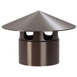 Wywiewka wentylacyjna Wirplast K402 fi 110 mm brązowa