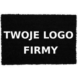 Wycieraczka z logo firmy