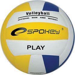 Piłka siatkowa Spokey Play 80881 niebiesko-biało-żółta