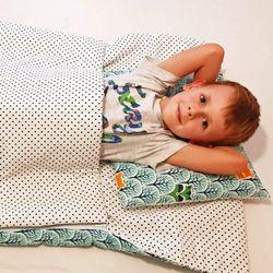 Śpiworek przedszkolaka 100% bawełna las + worek