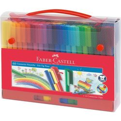 Flamastry pisaki FABER-CASTELL Connector 60 kol
