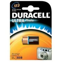 Baterie, bateria foto litowa Duracell CR123