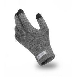 Rękawiczki męskie PaMaMi - Szary - Szary