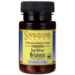 Melatonina 3mg (3000mcg) podwójne uwalnianie 60 tabletek