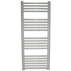 Grzejnik łazienkowy wetherby wykończenie proste, 600x1200, biały/ral
