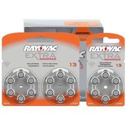 120 x baterie do aparatów słuchowych Rayovac Extra Advanced 13 MF