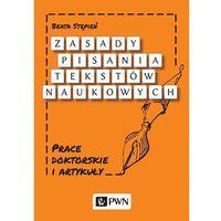 Senniki, wróżby, numerologia i horoskopy, Zasady pisania tekstów naukowych - Beata Stępień (opr. miękka)