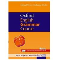 Książki do nauki języka, Oxford English Grammar Course Basic with Answers and CD-ROM (opr. miękka)