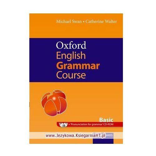 Książki do nauki języka, Oxford English Grammar Course Basic with Answers and CD-ROM (opr. miękka)