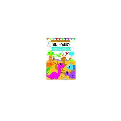 Książki dla dzieci, Rysuj i ozdabiaj Szablony Dinozaury - Praca zbiorowa (opr. twarda)