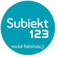 Programy kadrowe i finansowe, InsERT Subiekt 123 - moduł fiskalizacja - 1 rok