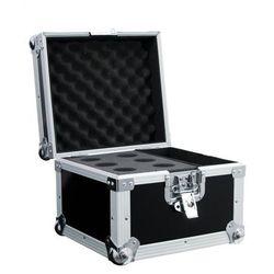 Roadinger Microphone Case Road 6 black - skrzynia transportowa na mikrofony