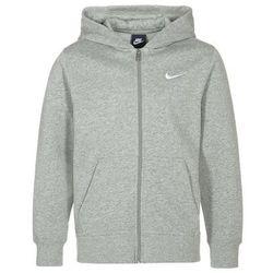 Nike Performance YA76 Bluza rozpinana dark grey heather/white
