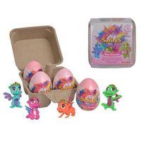 Figurki i postacie, Simba Safiras Baby Princess Neon V Zestaw 4 jajek musujących figurka smoka księżniczka