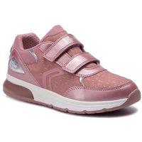 Półbuty i trzewiki dziecięce, Sneakersy GEOX - J Spaceclub G.B J948VB 0DHAJ C8056 DD Antique Rose
