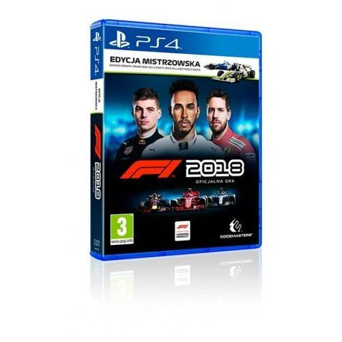 Gry na PS4, F1 2018 (PS4)