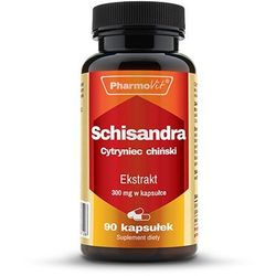 Schisandra Cytryniec chiński ekstrakt 300mg 90 kapsułek PharmoVit