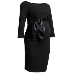 ubrania ciążowe Wizytowa sukienka ciążowa Dacja Piękny Brzuszek