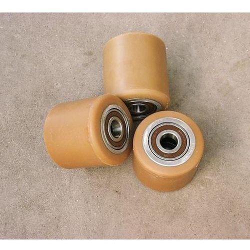 Pozostałe akcesoria do narzędzi, ROLKA metalowo-poliuretanowa do wózka paletowego 80 x 70 mm