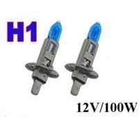 Żarówki ksenonowe samochodowe, Żarówki (2szt.) Samochodowe H1 (12V) Xenon H.I.D. Blue Vision (moc 100W) - Homologowane.