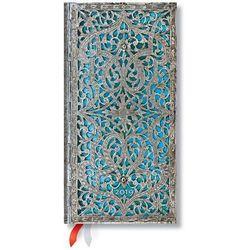 Kalendarz książkowy slim 2019 12M Maya Blue