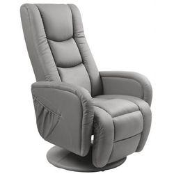 Fotel wypoczynkowy Litos - popielaty