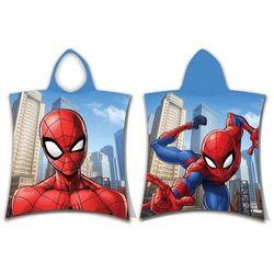 Ponczo dziecięce Spiderman jump, 50 x 115 cm